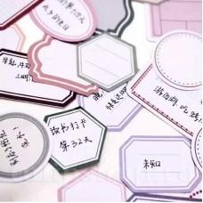 Etichete autoadezive hexagon Old Time 10buc.
