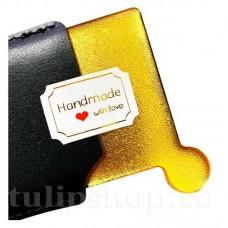 Etichete autoadezive mini Handmade 10buc.