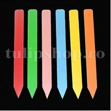 Etichete plante plastic multicolore