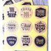 Sticker vintage Thank you 10buc.