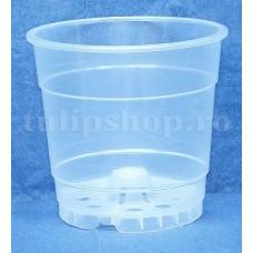 Ghiveci transparent pentru orhidee 1,4l