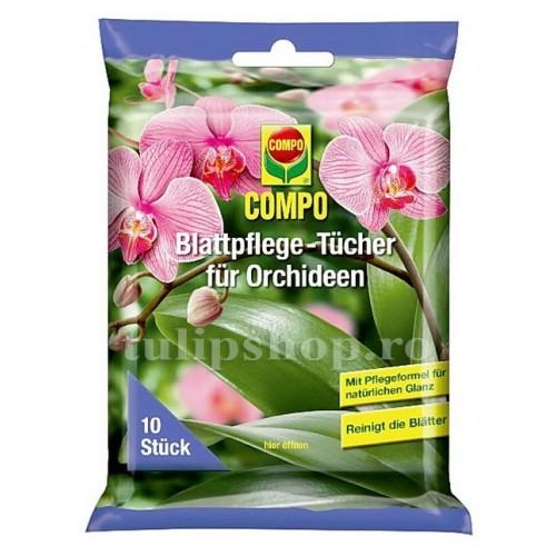 Servetele umede pentru orhidee 10buc